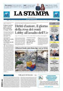 La Stampa Torino Provincia e Canavese - 26 Marzo 2019