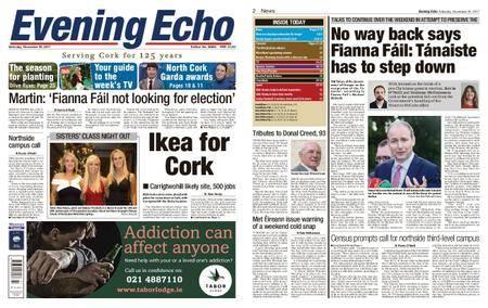 Evening Echo – November 25, 2017
