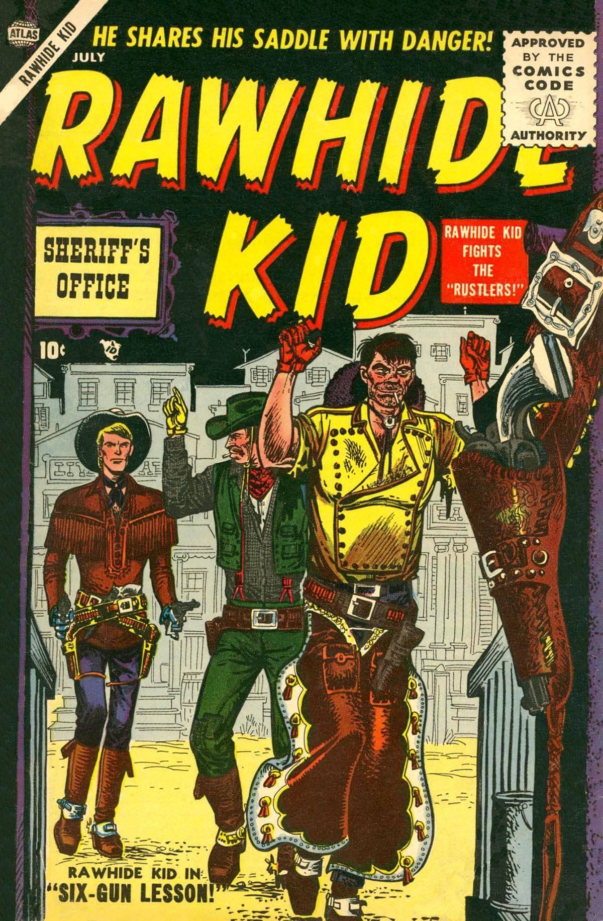 Rawhide Kid v1 003 1955