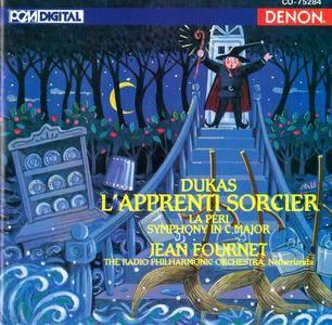 Netherlands RPO, Jean Fournet - Paul Dukas: L'apprenti Sorcier; La Peri; Symphony In C (1993)