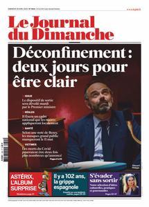 Le Journal du Dimanche - 26 avril 2020