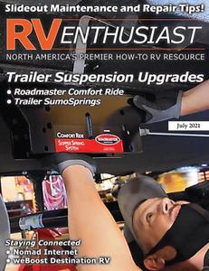 RV Enthusiast Magazine – July 2021
