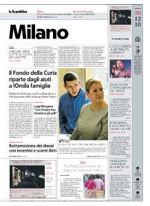 la Repubblica Milano - 30 Dicembre 2018