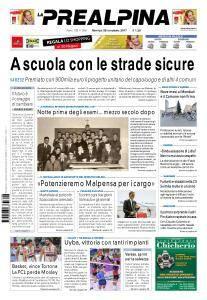 La Prealpina - 28 Novembre 2017