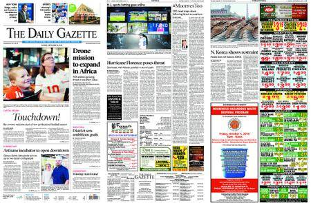 The Daily Gazette – September 10, 2018