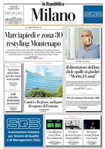la Repubblica Milano - 9 Luglio 2020