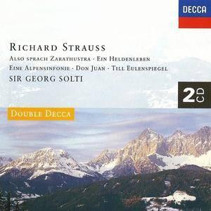 Georg Solti - Strauss: Ein Heldenleben, Also sprach Zarathustra, Don Juan, Till Eulenspiegels lustige Streiche (1994)