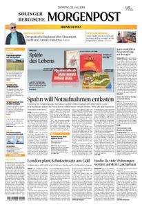 Solinger Morgenpost – 23. Juli 2019