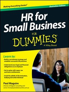 HR For Small Business For Dummies (repost)