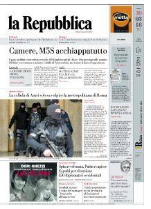 la Repubblica - 30 Marzo 2018