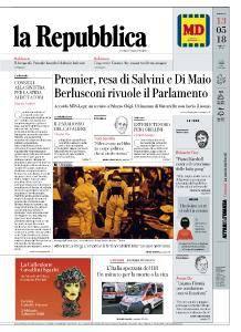 la Repubblica - 13 Maggio 2018