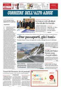 Corriere dell'Alto Adige - 9 Marzo 2018