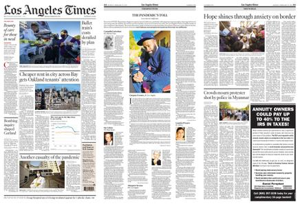 Los Angeles Times – February 22, 2021