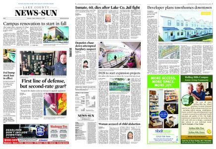 Lake County News-Sun – March 30, 2019