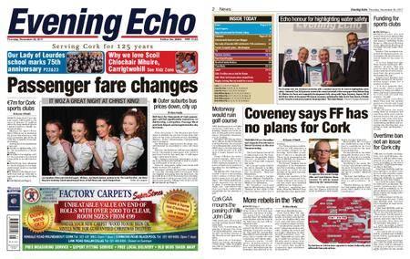 Evening Echo – November 30, 2017