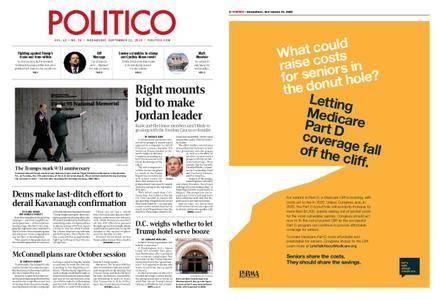 Politico – September 12, 2018