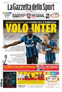 La Gazzetta dello Sport – 11 agosto 2020
