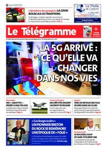 Le Télégramme Quimper – 18 novembre 2020