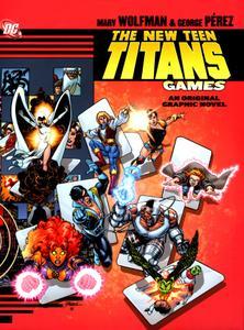 New Teen Titans Games Hardcover Original Graphic Novel  145 pgs HHshark 2011