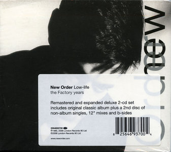 New Order - Low-Life (1985) 2CD Collector's Remastered Edition 2008 [Correct Reissue 2009]
