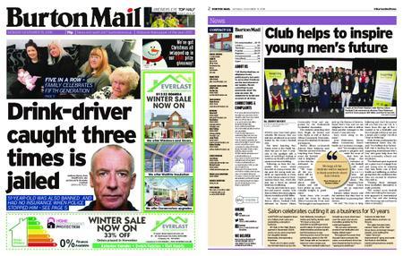 Burton Mail – November 19, 2018