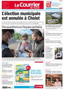 Le Courrier de l'Ouest Cholet – 21 juillet 2021