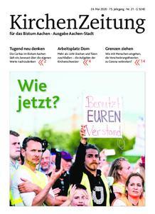 KirchenZeitung für das Bistum Aachen – 24. Mai 2020