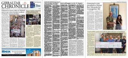Gibraltar Chronicle – 21 October 2019