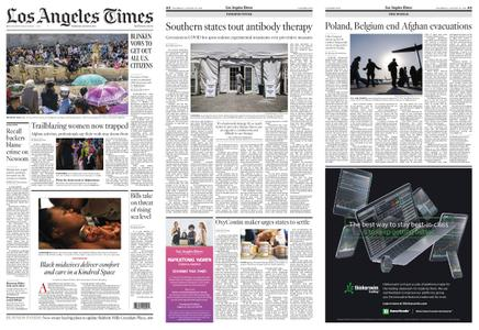 Los Angeles Times – August 26, 2021