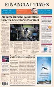 Financial Times USA - January 26, 2021