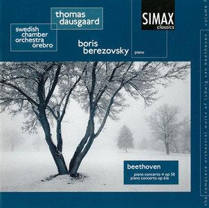 Boris Berezovsky, Swedish CO, Thomas Dausgaard - Beethoven: Piano Concerto No. 4; Piano Concerto in D major, op. 61a (2005)