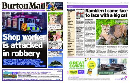 Burton Mail – April 23, 2019