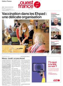 Ouest-France Édition France – 23 décembre 2020