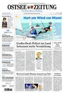 Ostsee Zeitung Wolgast - 30. Januar 2018