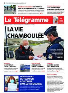 Le Télégramme Ouest Cornouaille – 18 mars 2020