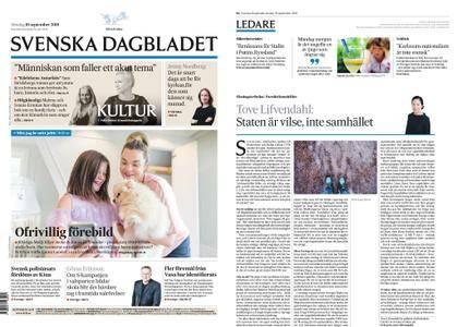 Svenska Dagbladet – 16 september 2018
