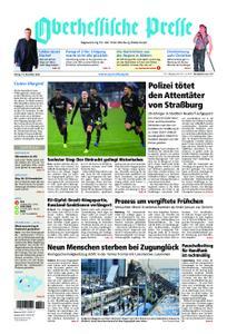 Oberhessische Presse Marburg/Ostkreis - 14. Dezember 2018