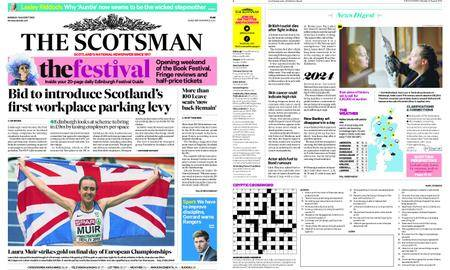 The Scotsman – August 13, 2018