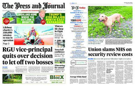 The Press and Journal Moray – July 24, 2018