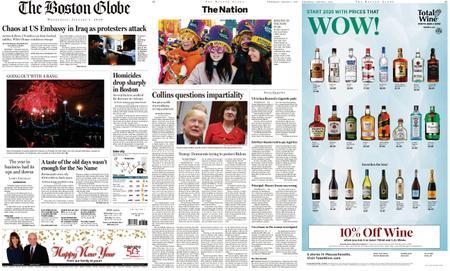 The Boston Globe – January 01, 2020