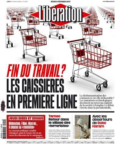 Libération du Jeudi 9 Février 2017