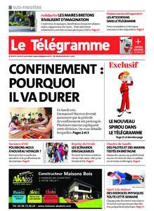 Le Télégramme Ouest Cornouaille – 13 avril 2020