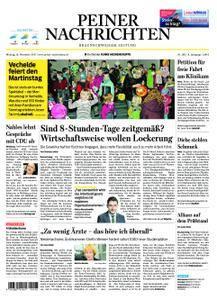 Peiner Nachrichten - 13. November 2017