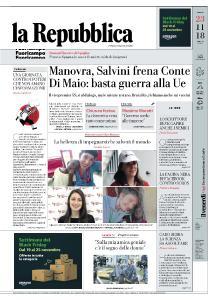 la Repubblica - 23 Novembre 2018