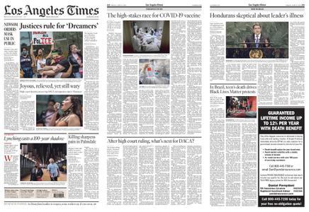 Los Angeles Times – June 19, 2020