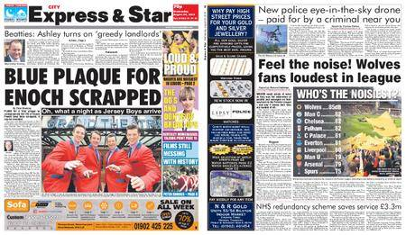 Express and Star City Edition – August 29, 2018