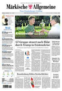 Neue Oranienburger Zeitung - 11. Juni 2018