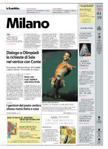 la Repubblica Milano - 30 Gennaio 2019
