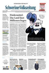 Schweriner Volkszeitung Hagenower Kreisblatt - 28. April 2018
