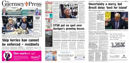 The Guernsey Press – 24 October 2019